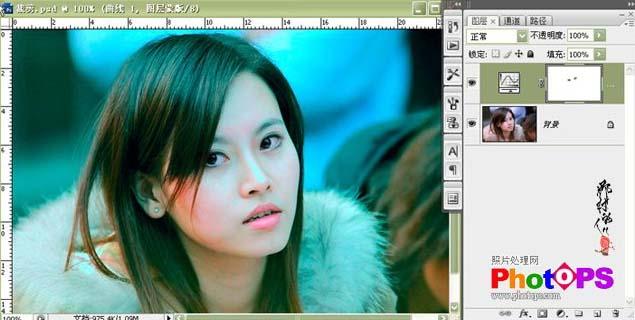 PS在Lab模式调出仿Ab色效果_亿码酷站___亿码酷站平面设计教程插图3
