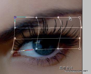 Photoshop打造一双完美的眼睛_亿码酷站___亿码酷站平面设计教程插图4