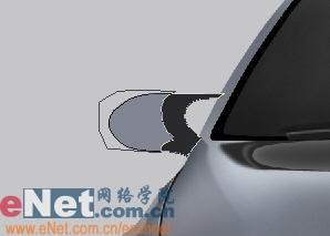 Photoshop鼠绘实例:宝马BMWM3_亿码酷站___亿码酷站平面设计教程插图31