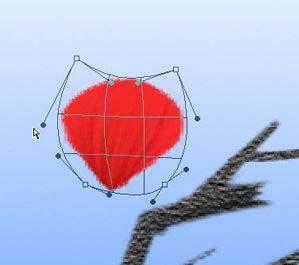 Photoshop鼠绘盛开的梅花_亿码酷站___亿码酷站平面设计教程插图12
