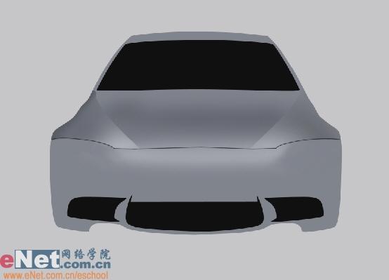Photoshop鼠绘实例:宝马BMWM3_亿码酷站___亿码酷站平面设计教程插图3