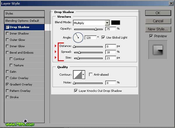 Photoshop制作剪纸字效果_亿码酷站___亿码酷站平面设计教程插图11