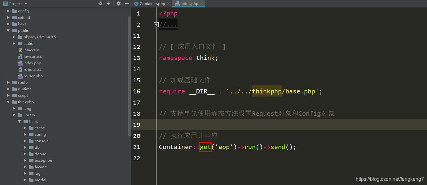 ThinkPHP容器之初步解析_亿码酷站_编程开发技术教程插图2