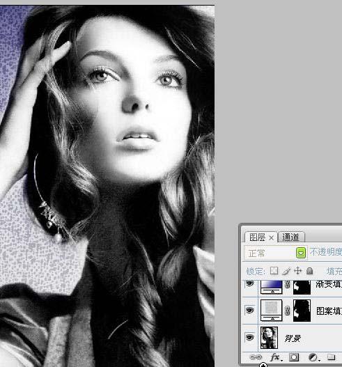 调整图层及渐变映射快速给黑白照片上色_亿码酷站___亿码酷站平面设计教程插图3