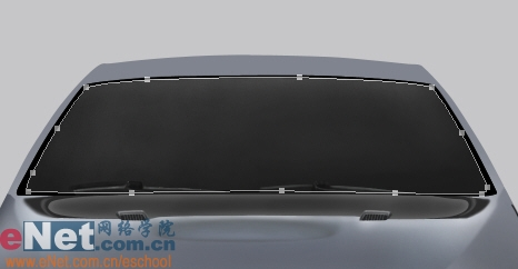 Photoshop鼠绘实例:宝马BMWM3_亿码酷站___亿码酷站平面设计教程插图29