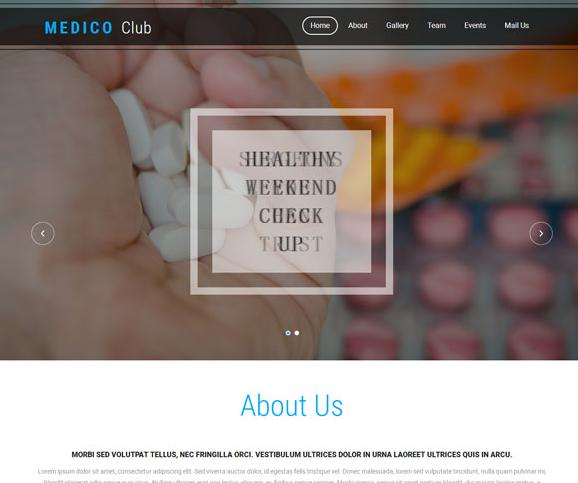 出口药品公司官网网站模板_php网站模板