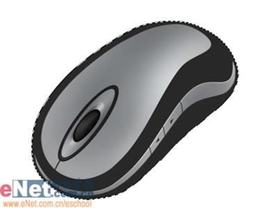 Photoshop鼠绘逼真的无线鼠标_亿码酷站___亿码酷站平面设计教程插图9
