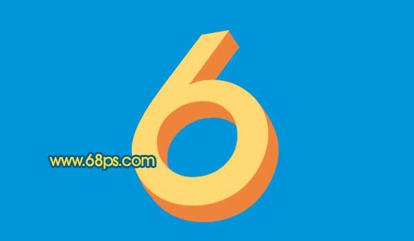 Photoshop打造黄金3D特效字_亿码酷站___亿码酷站平面设计教程插图6