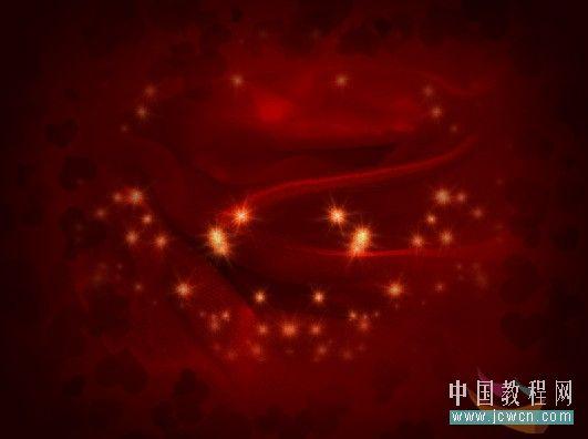 Photoshop制作漂亮爱心情人节贺卡_亿码酷站___亿码酷站平面设计教程插图17