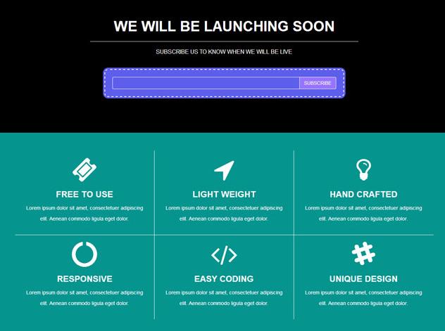 青色网站改版上线邮件订阅模板_亿码酷站