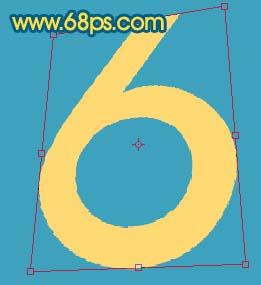 Photoshop打造黄金3D特效字_亿码酷站___亿码酷站平面设计教程插图2