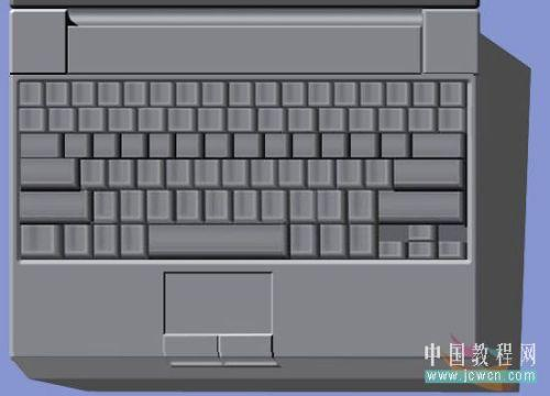 Photoshop鼠绘笔记本电脑_亿码酷站___亿码酷站平面设计教程插图25