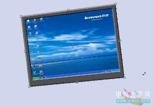 Photoshop鼠绘笔记本电脑_亿码酷站___亿码酷站平面设计教程插图33
