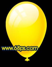 Photoshop制作漂亮的彩色气球_亿码酷站___亿码酷站平面设计教程插图18