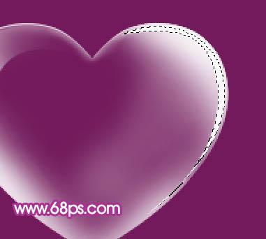 Photoshop制作漂亮的心形泡泡_亿码酷站___亿码酷站平面设计教程插图12