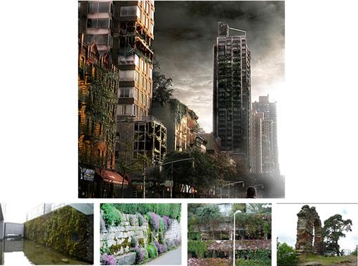 用Photoshop打造一座灾难城市_亿码酷站___亿码酷站平面设计教程插图11