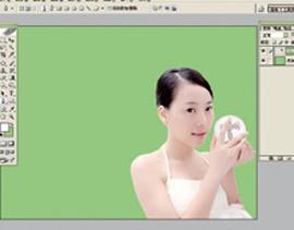 Photoshop给美女加上彩妆及头饰_亿码酷站___亿码酷站平面设计教程插图4