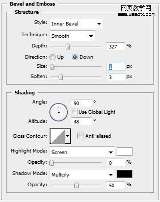 Photoshop制作石质立体字效果_亿码酷站___亿码酷站平面设计教程插图20
