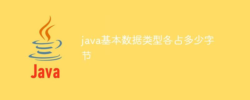 java基本数据类型各占多少字节_编程技术_亿码酷站