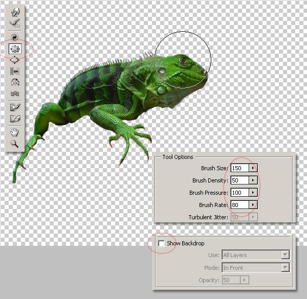 Photoshop图像合成实例:栩栩如生的翼龙_亿码酷站___亿码酷站平面设计教程插图4