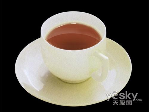 Photoshop精细修改茶杯_亿码酷站___亿码酷站平面设计教程