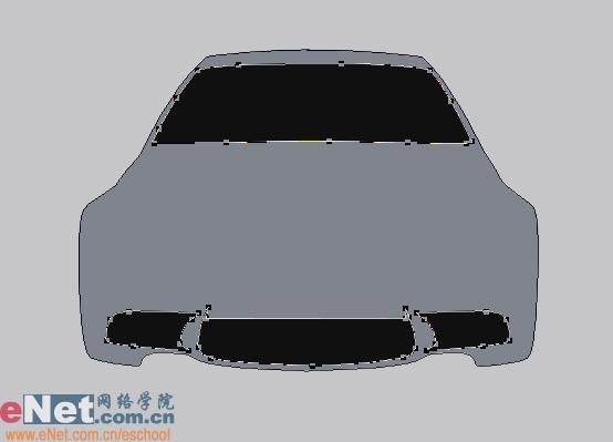 Photoshop鼠绘实例:宝马BMWM3_亿码酷站___亿码酷站平面设计教程插图2