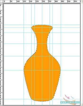 Photoshop打造一只精美艺术花瓶_亿码酷站___亿码酷站平面设计教程插图2