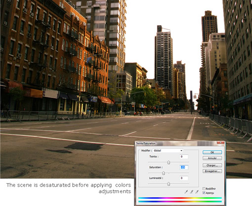 用Photoshop打造一座灾难城市_亿码酷站___亿码酷站平面设计教程插图1