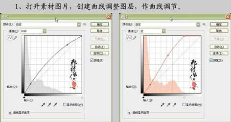 PS巧用曲线快速修复暗色调照片_亿码酷站___亿码酷站平面设计教程插图2