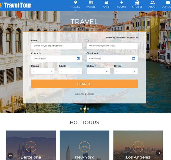 国际长途酒店机票预订网站模板_php网站模板