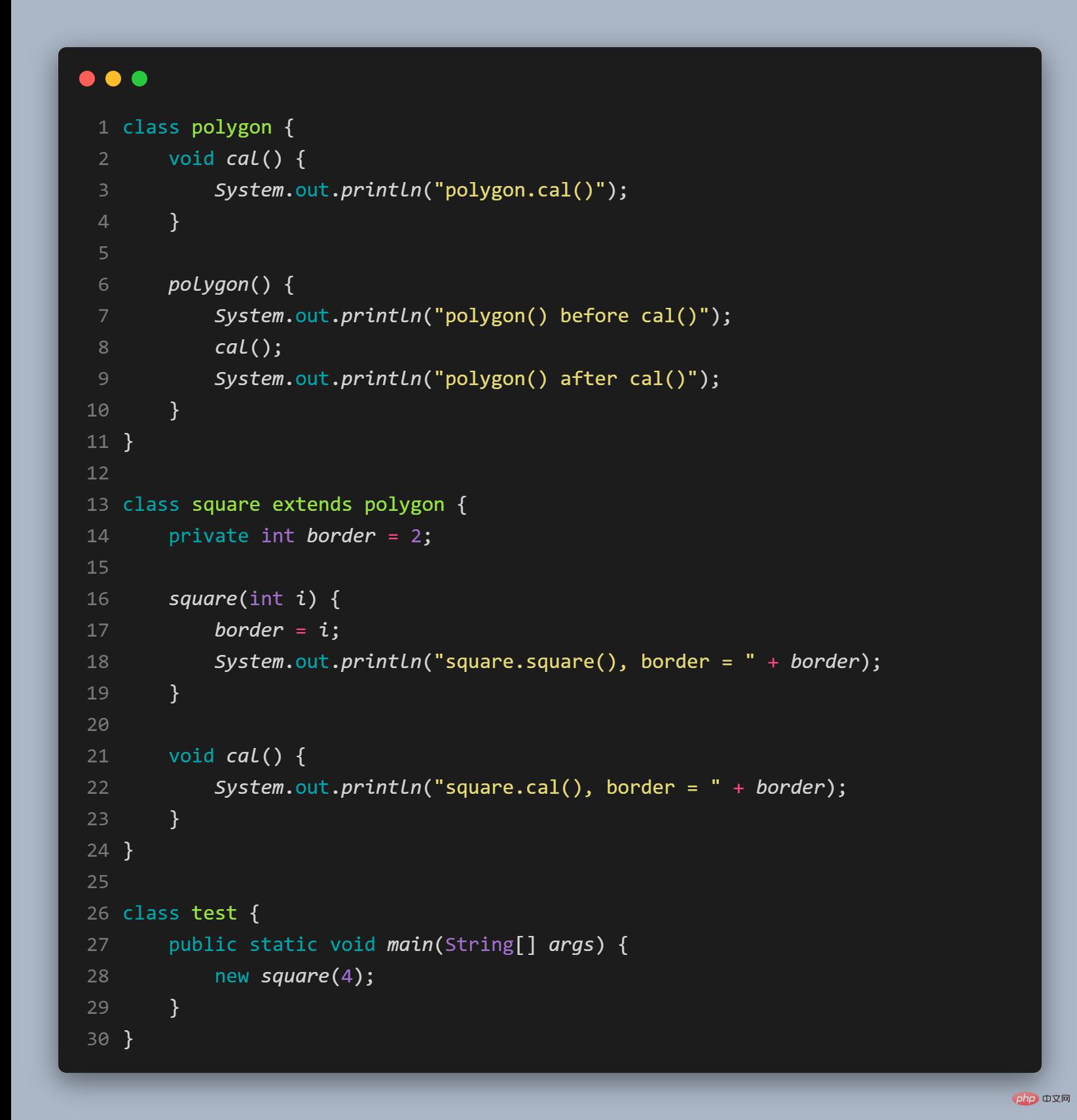 这年头,说自己会Java就得会多态_编程技术_亿码酷站插图1