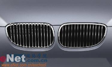 Photoshop鼠绘实例:宝马BMWM3_亿码酷站___亿码酷站平面设计教程插图13