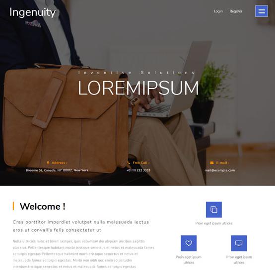 皮包定制公司全站模板_html网站模板