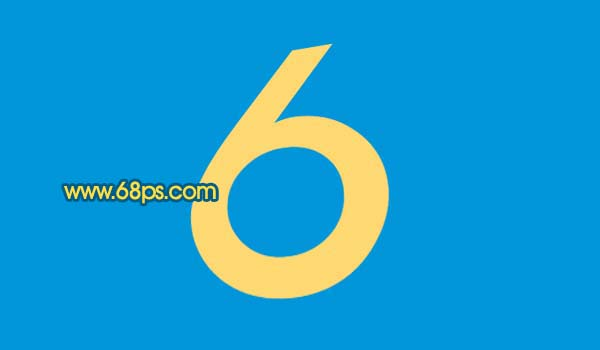 Photoshop打造黄金3D特效字_亿码酷站___亿码酷站平面设计教程插图3