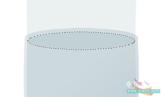 PS绘制橙汁玻璃杯_亿码酷站___亿码酷站平面设计教程插图9