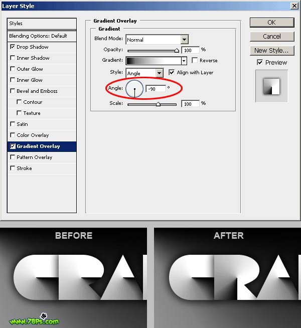 Photoshop制作剪纸字效果_亿码酷站___亿码酷站平面设计教程插图17
