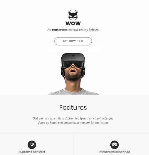 VR虚拟现实产品制作网站模板_亿码酷站网站源码下载