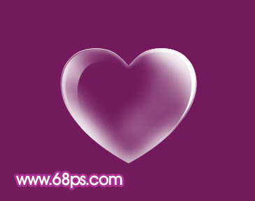 Photoshop制作漂亮的心形泡泡_亿码酷站___亿码酷站平面设计教程插图14