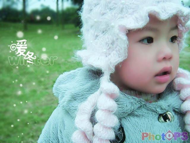 PS对儿童照片的色彩调整和效果美化_亿码酷站___亿码酷站平面设计教程插图1