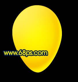 Photoshop制作漂亮的彩色气球_亿码酷站___亿码酷站平面设计教程插图10