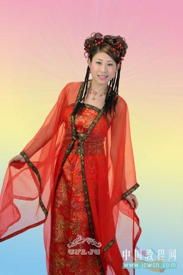 Photoshop教程:红色婚纱抠图技巧_亿码酷站___亿码酷站平面设计教程插图10