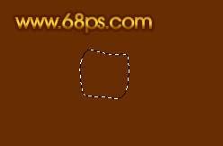 Photoshop制作漂亮的金色礼品结_亿码酷站___亿码酷站平面设计教程插图1