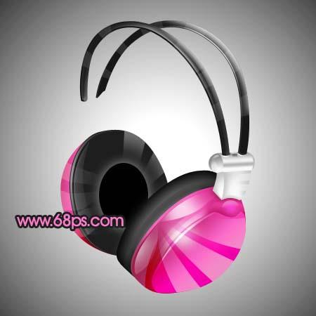 Photoshop制作一款时尚的耳机_亿码酷站___亿码酷站平面设计教程插图23