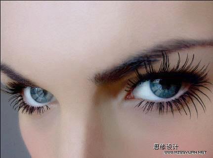 Photoshop打造一双完美的眼睛_亿码酷站___亿码酷站平面设计教程插图1