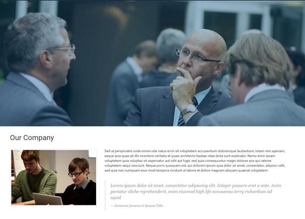 商务交流平台灰色网站模板_php网站模板