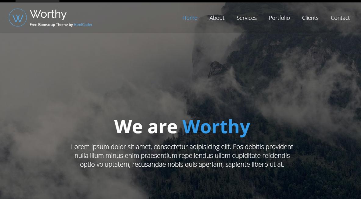 清爽的bootsrap前端模板_php网站模板