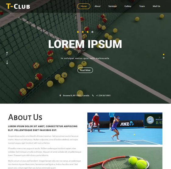 棒球体育运动单页网站模板_亿码酷站网站源码下载