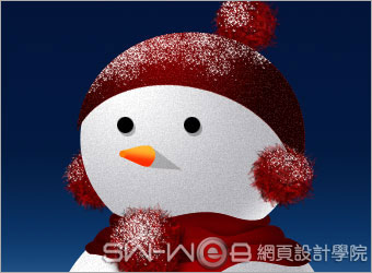 PHOTOSHOP鼠绘漂亮的圣诞雪人_亿码酷站___亿码酷站平面设计教程插图19