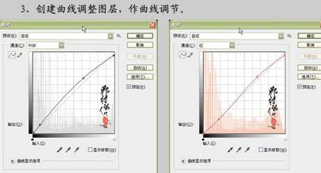 PS巧用曲线快速修复暗色调照片_亿码酷站___亿码酷站平面设计教程插图6