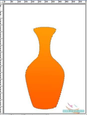 Photoshop打造一只精美艺术花瓶_亿码酷站___亿码酷站平面设计教程插图4